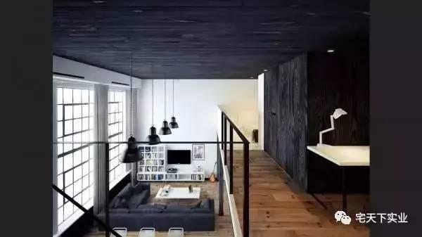 年轻人喜欢的loft,小户型阁楼装修!